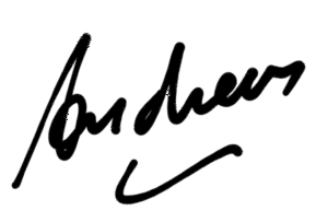 Signatur Andreas
