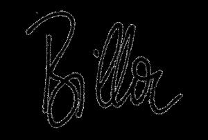 Signatur Billa